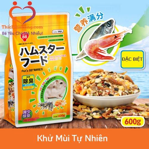 Thức ăn Cho chuột hamster